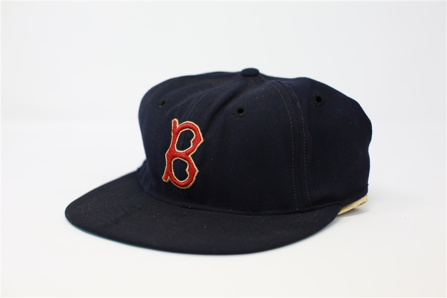 Ted Williams Boston Red Sox game worn cap