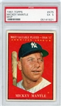 1961 Topps Mickey Mantle #475 PSA EX 5